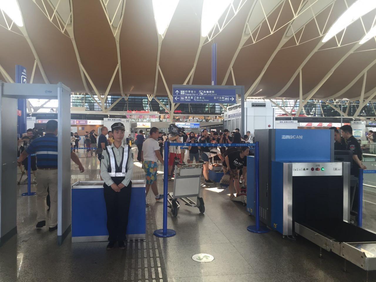 在上海浦东机场安检需提前多久图片