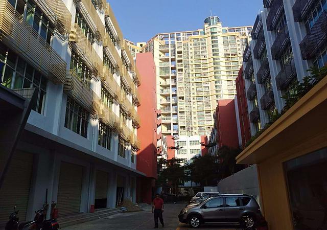 宝安区-滨海春城-1室1厅1卫-30㎡